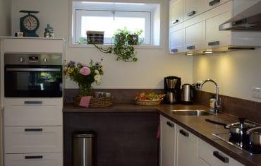 Luxe keuken bij De Maasgaarde in Megen