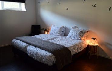 Slaapkamer - De Maasgaarde in Megen