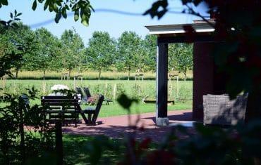 Overkapping in de tuin | De Maasgaarde