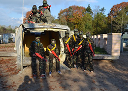 Paintball de Naaldhof in Oss